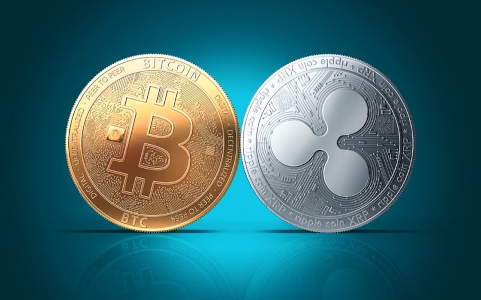Digital currency ripple soars nearly 56 percent, becomes second-largest cryptocurrency by market cap