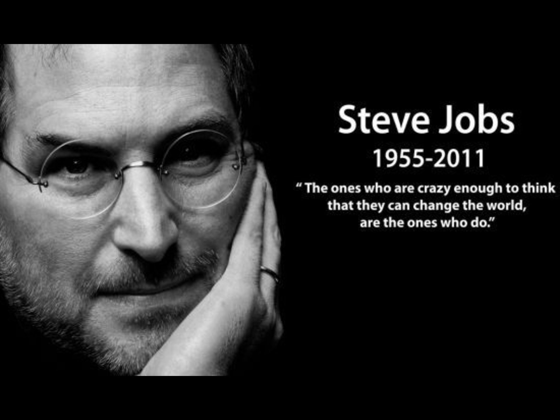 Steve Jobs Quotes Change The World Wallpaper X PIC MCH011911